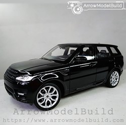 Picture of ArrowModelBuild Land Rover Custom Color (Lanyun Bright Black) 1/24 Model Kit