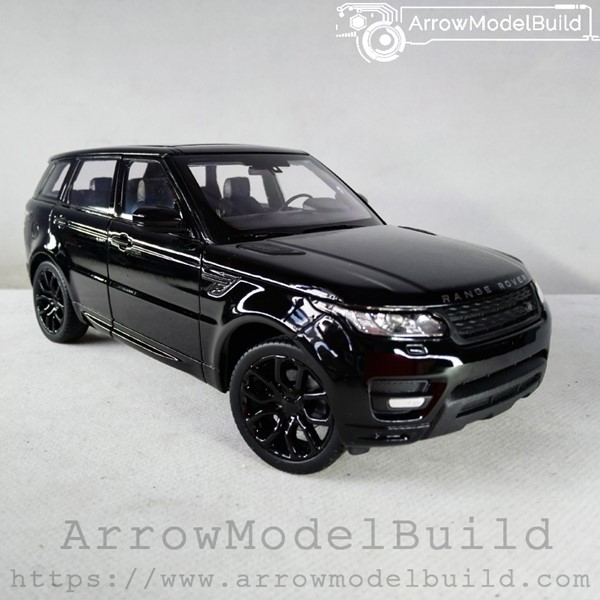 Picture of ArrowModelBuild Land Rover Custom Color (Black Samurai) 1/24 Model Kit