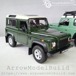 Picture of ArrowModelBuild Land Rover Custom Color (Moss Green) Without Luggage Rack 1/24 Model Kit