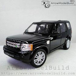 Picture of ArrowModelBuild Land Rover Custom Color (4-Bright Black) 1/24 Model Kit
