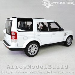 Picture of ArrowModelBuild Land Rover Custom Color (4-Bright White) 1/24 Model Kit