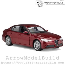 Picture of ArrrowModelBuild Alfa Romeo Juliet (Racing Red Original) 1/24 Model Kit