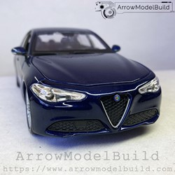 Picture of ArrrowModelBuild Alfa Romeo Juliet (Monte Carlo Blue Original) 1/24 Model Kit