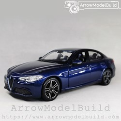 Picture of ArrrowModelBuild Alfa Romeo Juliet (Monte Carlo Blue) Wheels Refined Version 1/24 Model Kit