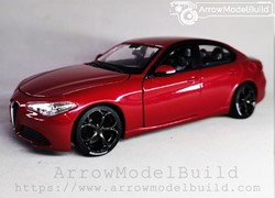 Picture of ArrrowModelBuild Alfa Romeo Juliet (Racing Red) Clover Wheel Limited Edition 1/24 Model Kit