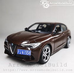 Picture of ArrrowModelBuild Alfa Romeo Stelvio Custom Color (Brown) 1/24 Model Kit