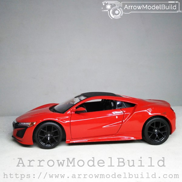 Picture of ArrrowModelBuild Honda NSX Custom Color (Rally Red) 1/24 Model Kit