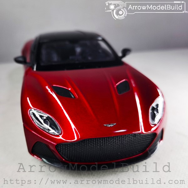 Picture of ArrowModelBuid Aston Martin DBS Superleggera (Lava Red) 1/24 Model Kit