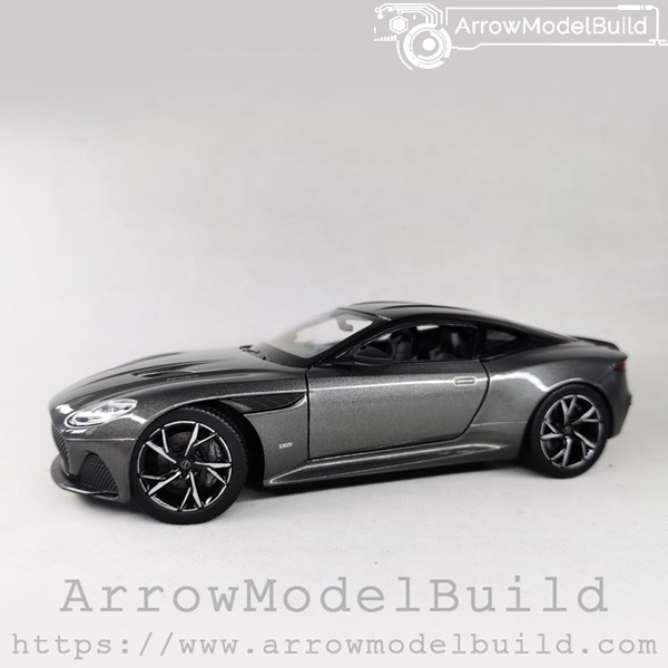 Picture of ArrowModelBuid Aston Martin DBS Superleggera (Manhattan Grey) Wheels Refined Version 1/24 Model Kit