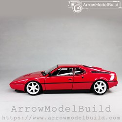 Picture of ArrowModelBuild BMW M1 (Balkan Red) Low Profile Modified Version 1/24 Model Kit