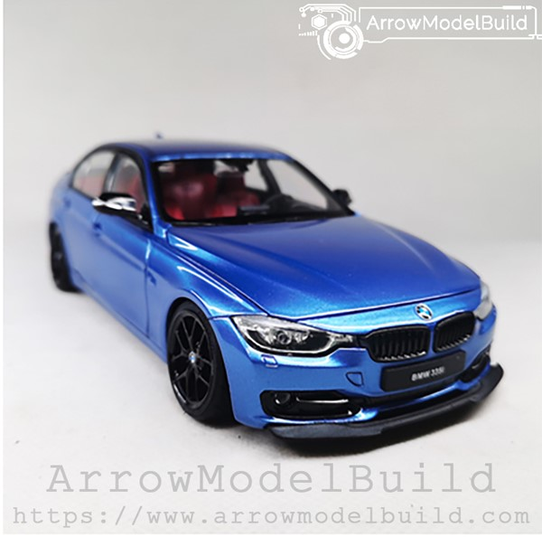 Picture of ArrowModelBuild BMW 3 Series (Montreal Blue) Red and Black Interior Edition 1/24 Model Kit