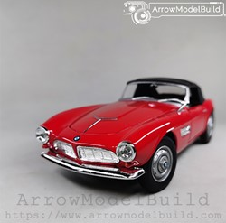 Picture of ArrowModelBuild BMW 507 (Red Convertible) 1/24 Model Kit