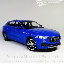 Picture of ArrowModelBuild Maserati Levante (Passion Blue) 1/24 Model Kit