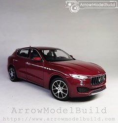 Picture of ArrowModelBuild Maserati Levante (Enamored Brown Red) 1/24 Model Kit