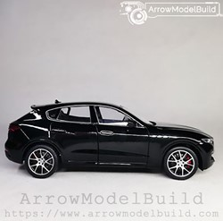 Picture of ArrowModelBuild Maserati Levante (King Kong Black) 1/24 Model Kit