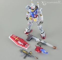 Picture of Gundam (Transpancy) Built & Painted MG 1/100 Model Kit